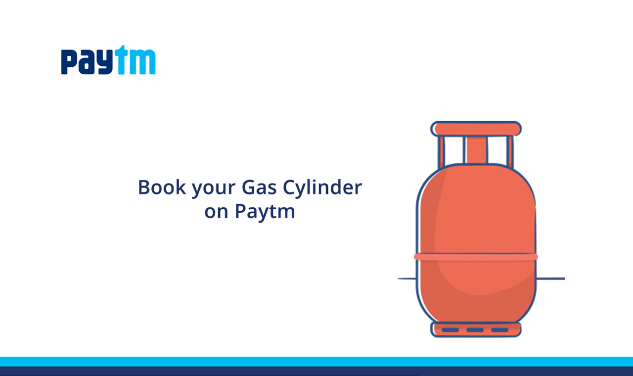 PayTM Cylinder Booking